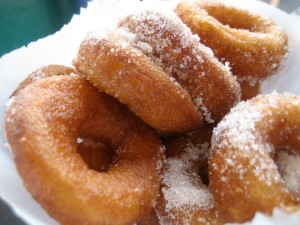 Fried, sugary deliciousness