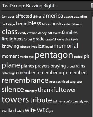 9/11 words