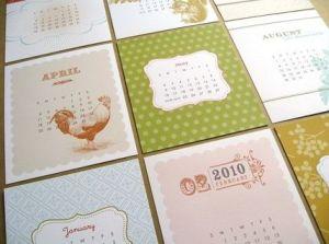 2010 graphics calendar