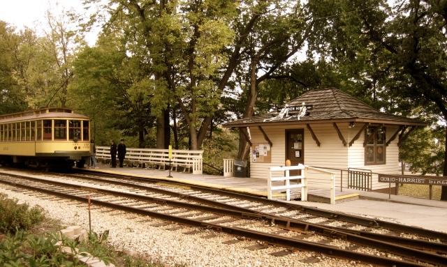 Linden Hills Train Station