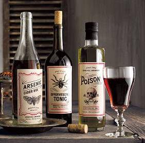 Mad Scientist Wine Labels from MarthaStewart.com