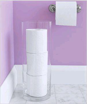 Toilet Paper Vase