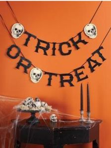 Martha Stewart Trick or Treat Garland